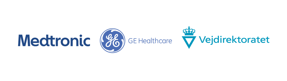 Medtronic, GE healthcare og Vejdirektoratet
